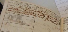 Catherine Lambert Diary