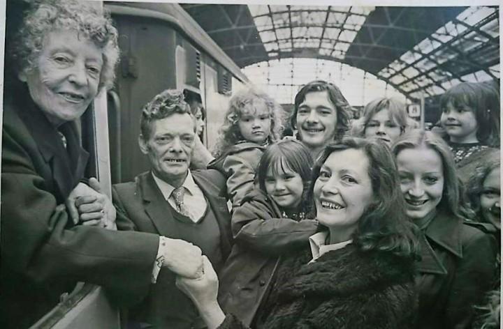 Nanna leaving Liverpool