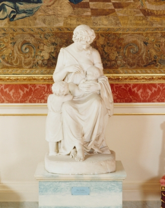 Dora Jordan memorial statue (Royal Collection Trust)