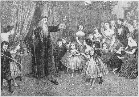 1866 Old_Father_Christmas,_or_The_Cave_of_Mystery,_Illustrated_London_News_1866