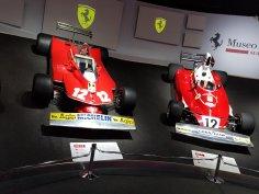 F1 Gallery Cars: i) 312 T4 (1979) ii) 312 T (1975)