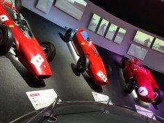 F1 Gallery Cars: i) 156 F1-63 ii) 246 F1 iii) D50