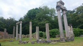 Roman Ruins at Virginia Water, Surrey