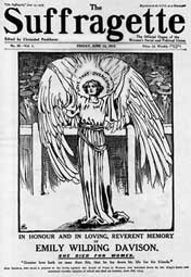 The Suffragette, the Emily Wilding Davison memorial issue