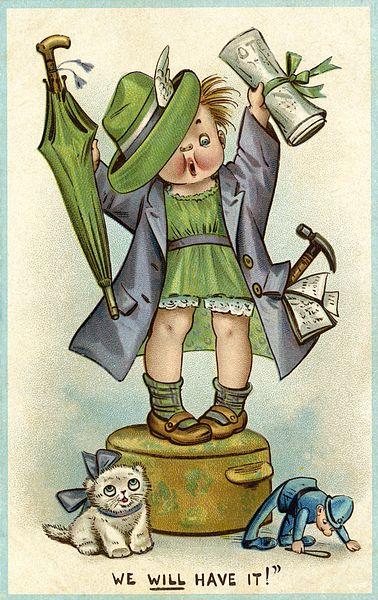 Suffragette Postcard
