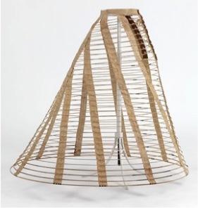 1860 Cage Crinoline (Wikimedia Commons)