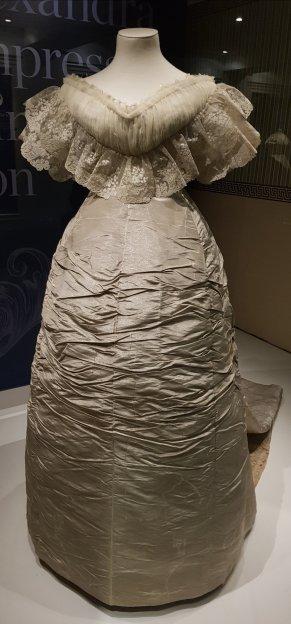 Princess Alexandra's wedding dress