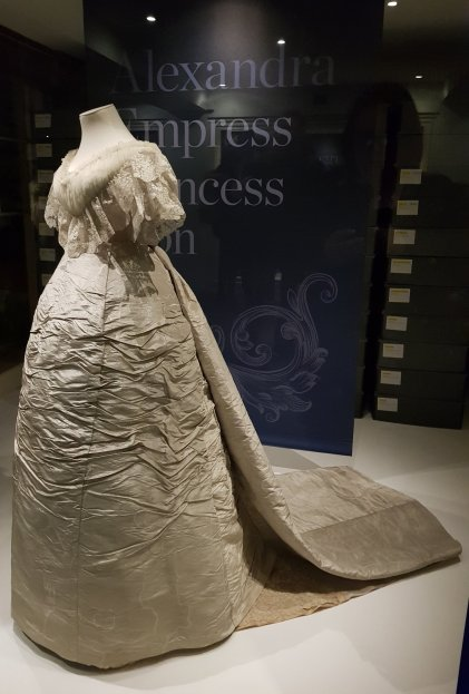 Princess Alexandra's wedding dress