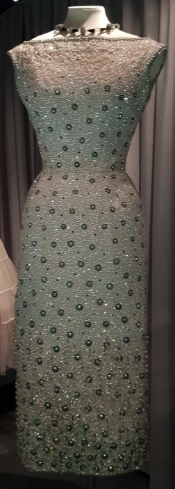 Beaded Dress 1958 by Norman Hartnell