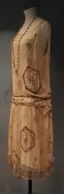Beaded Evening Dress 1927