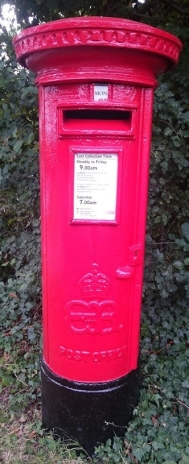 EVIIIR Cipher Pillar Box