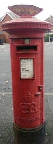 EVIIIR Cipher Pillar Box
