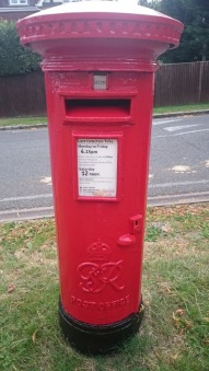 GVIR Cipher Pillar Box