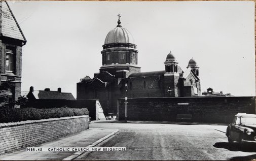SS Peter and Paul RC Church, New Brighton from Gorsehill Road