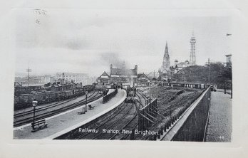 New Brighton Train Station