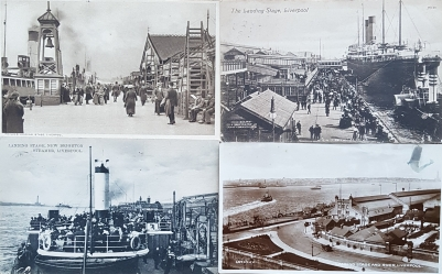 Postcards of the Landing Stage, Liverpool