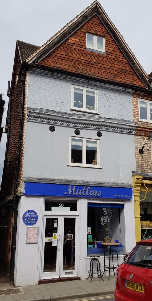 William Mullins' home, West Street, Dorking