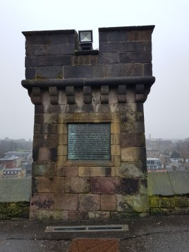 Memorial at Edinburgh Castle