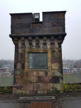 Memorial at Edinburgh Castle