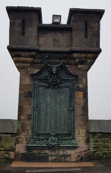 War Memorial for Scotland's Fallen, Edinburgh Castle