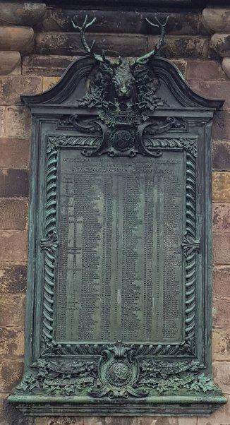 War Memorial for Scotland's Fallen, Edinburgh Castle
