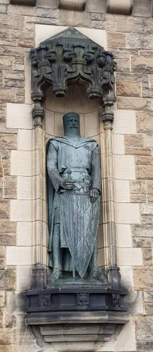 1929 Memorial to William Wallace, Edinburgh Castle