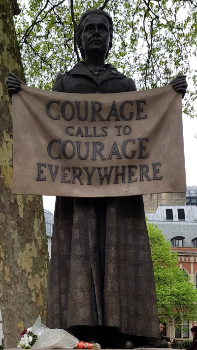 Statue of Millicent Garrett Fawcett (Parliament Square, London)