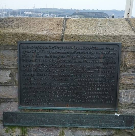 Mayflower Plaque, Plymouth