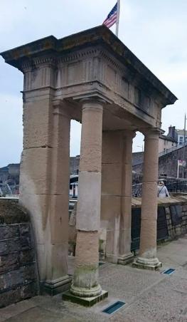 Mayflower Memorial, Plymouth