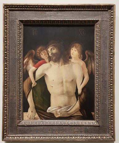 The Dead Christ Supported by Angels, 1465 - 70, Giovanni Bellini