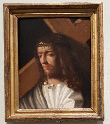 Christ Carrying the Cross, 1500, Italian, Venetian