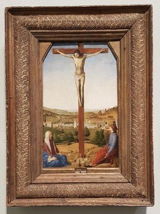 Christ Crucified, 1475, Antonello da Messina