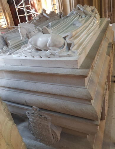 Effigies of George V and Queen Mary, St George's Chapel
