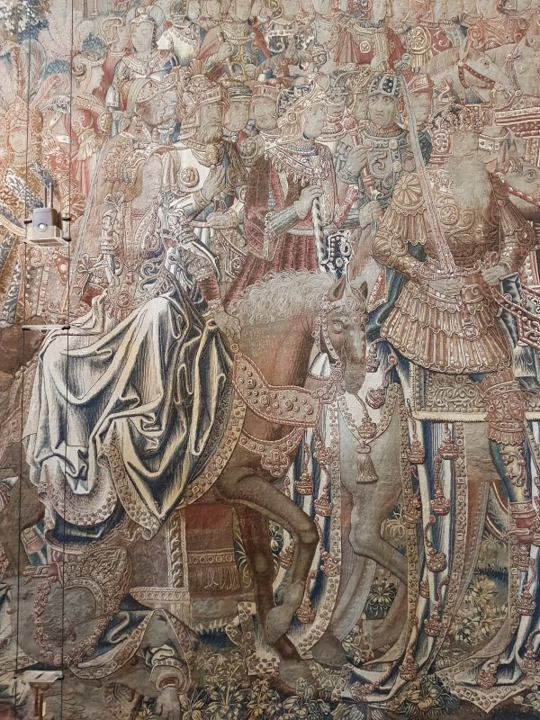 Tapestry, The Great Hall, Hampton Court Palace