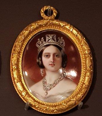 Portrait of Queen Victoria, William Essex, 1848
