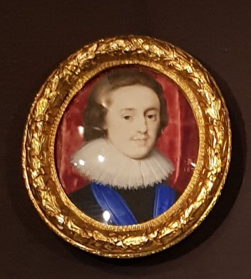 Portrait of Charles I when Prince of Wales, Peter Oliver, 1621