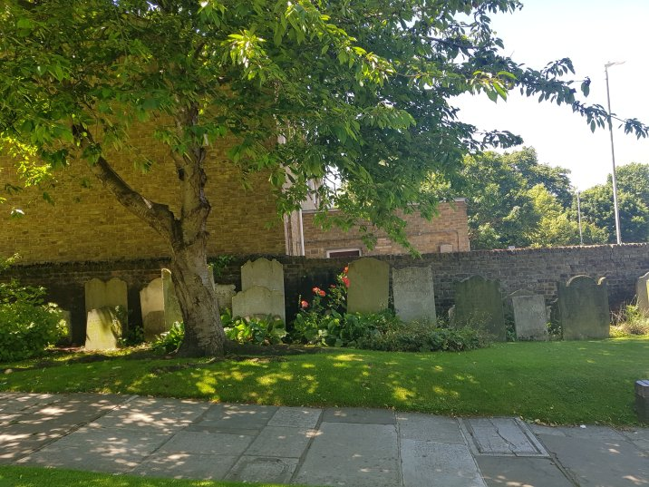 Churchyard of the Church of St George, Gravesend, Kent
