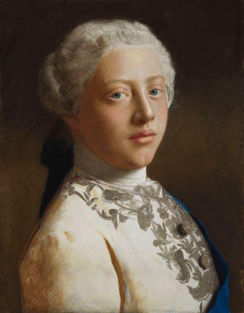 George Prince of Wales later George III 1754 by Liotard