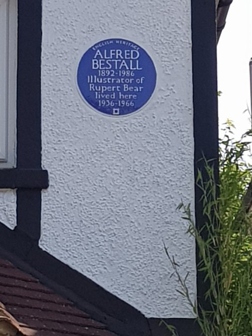 Alfred Bestall blue plaque