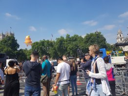 Trump Baby Blimp, Parliament Square, London