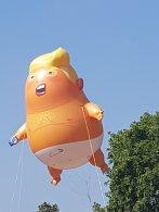 Trump Baby Blimp, Parliament Square London