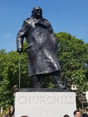 Winston Churchill, Parliament Square, London