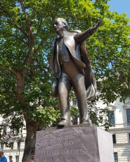 David Lloyd George, Parliament Square, London