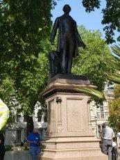 Sir Robert Peel, Parliament Square, London