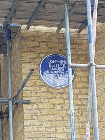 Josephine Butler blue plaque, Wimbledon