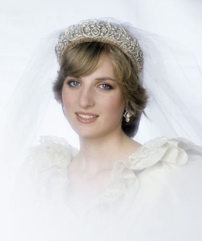 Diana, Princess of Wales, wearing the Spencer Tiara