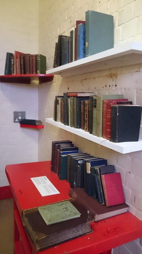 Replica of Oscar Wilde's Prison Library