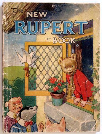 Rupert Bear (Photo: Pinterest)