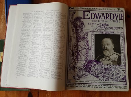Edward VII His Life and Times Vol. 1, edited by Sir Richard Holmes