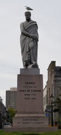 Duke of Gordon, Aberdeen, Scotland (accessorised​ with a seagull)
